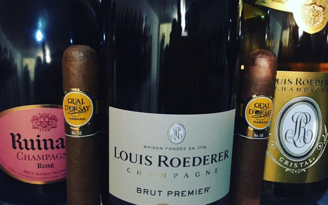 Champagne 🍾 best pairing per i nostri sigari