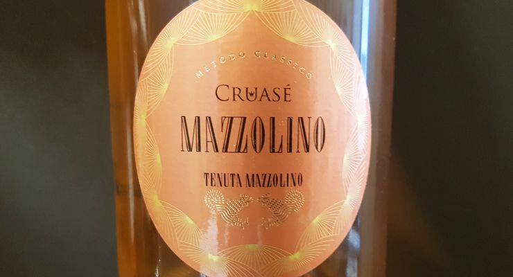 Cruasé Mazzolino Rosè brut
