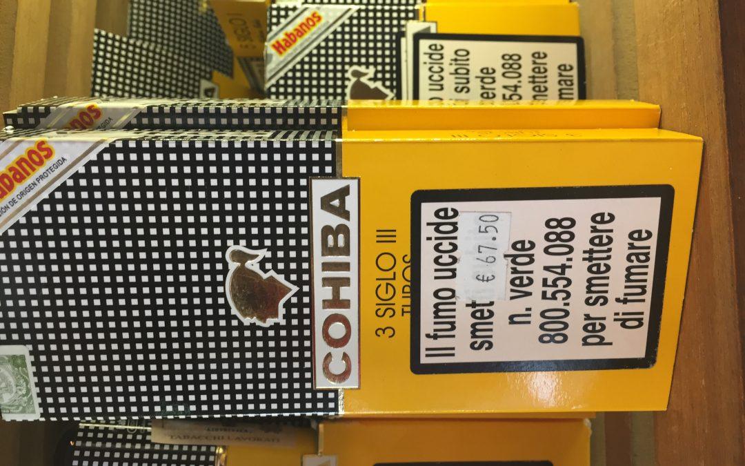 Cohiba aumenta i prezzi di alcune Vitole