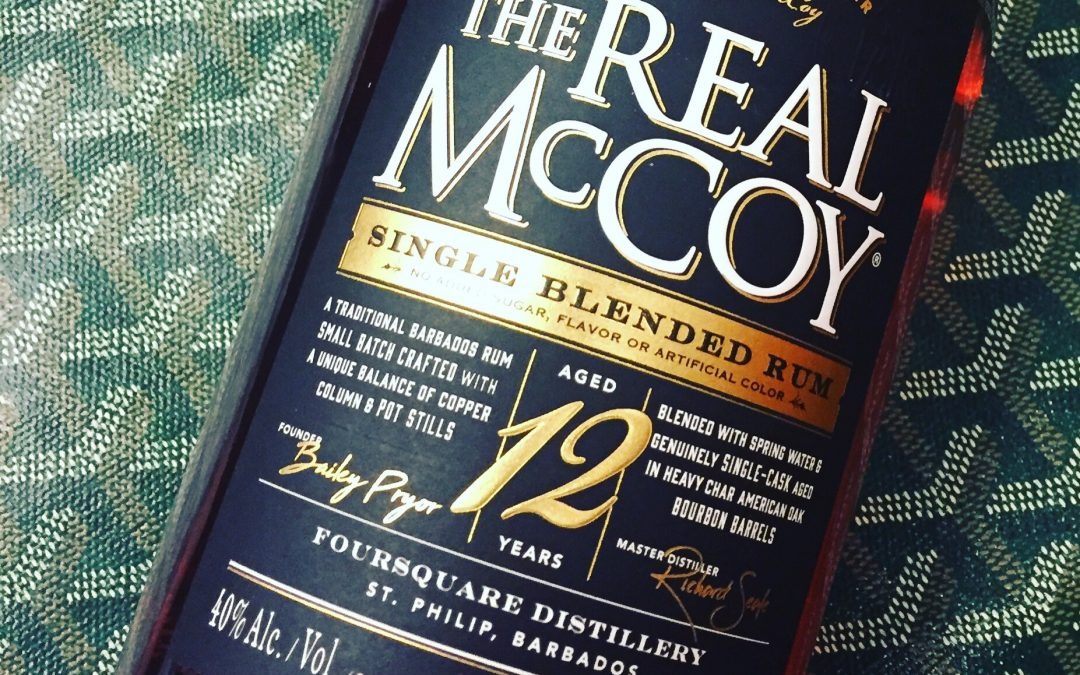 The real McCoy single blended rum